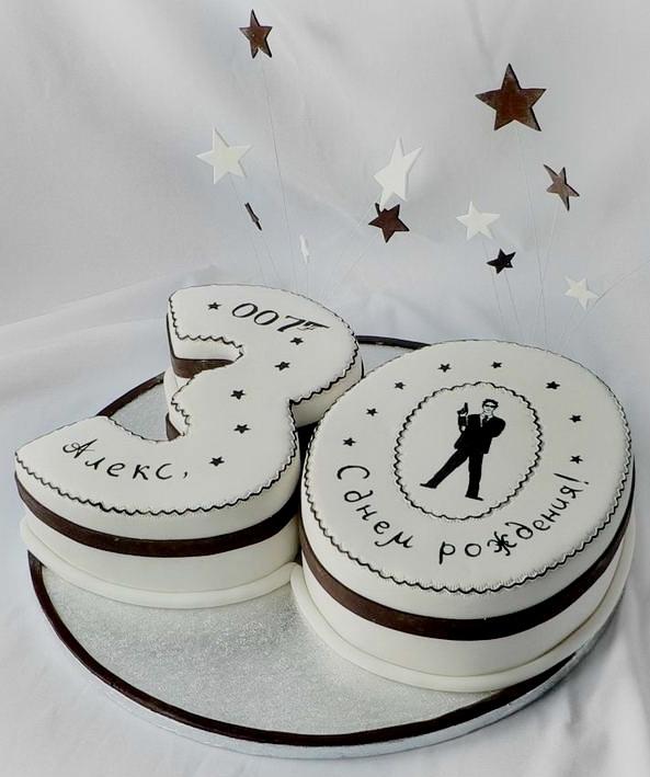Торт на годовщину свадьбы 5 лет из