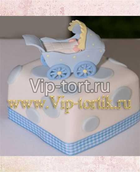 Детский торт новорожденный