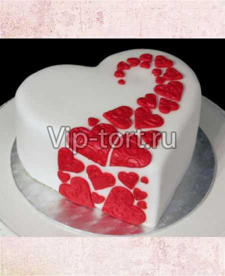Торт в 14 февраля