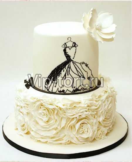 Торт платья на вешалке