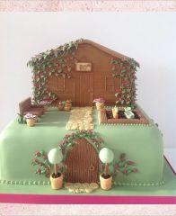 Торт шоколадный черепаха фото 4
