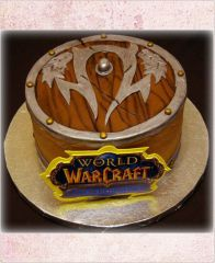 "Торт ""Знак. World of Warcraft"""