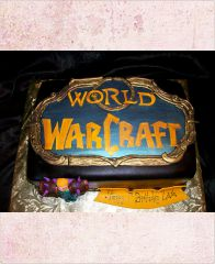 "Торт ""Таланты. World of Warcraft"""