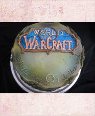 "Торт ""История. World of Warcraft"""
